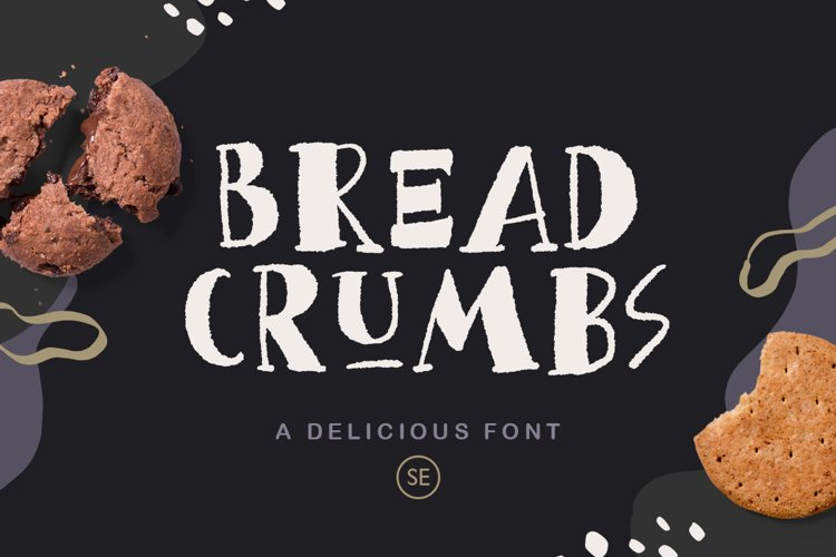 Bread Crumbs - Delicious Font example image 1