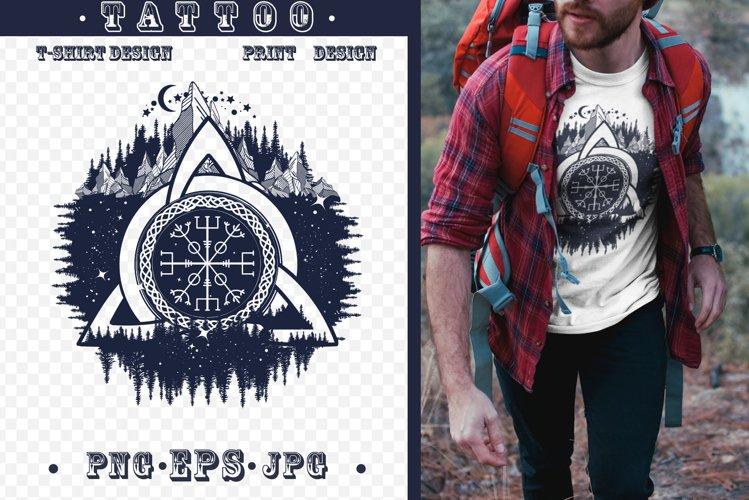 Celtic trinity knot tattoo example image 1
