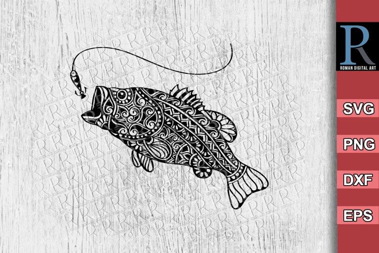 Download Bass Fish Svg File Bass Fish Cricut Svg Bass Mandala Svg 1274567 Cut Files Design Bundles