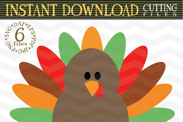 Turkey SVG - Turkey Clipart - Thanksgiving Turkey
