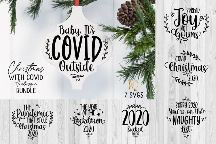 Arabesque Tile Ornament Bundle Christmas Pandemic 2020 Covid