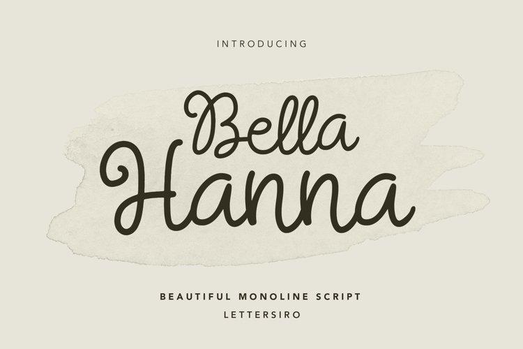 Bella Hanna example image 1