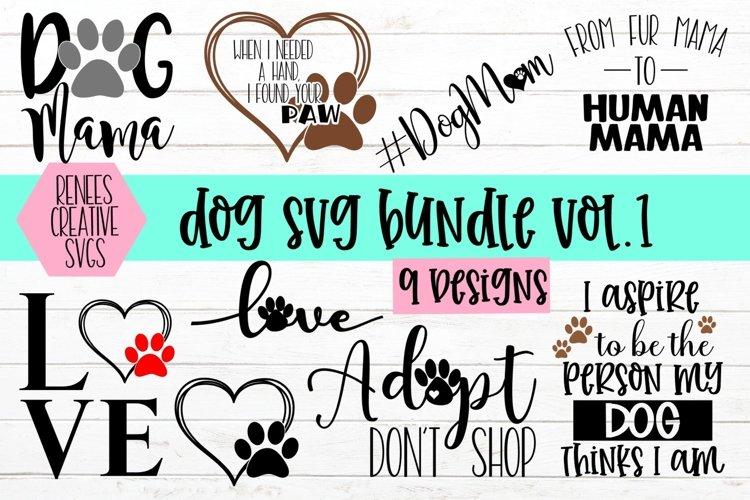 Dog Svg Bundle VOL 1 | Dog Bundle | Svg Cut Files