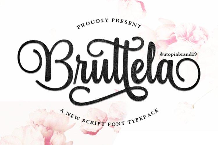 Bruttela Script example image 1