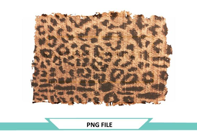 Leopard Print Distressed Background Backsplash example image 1