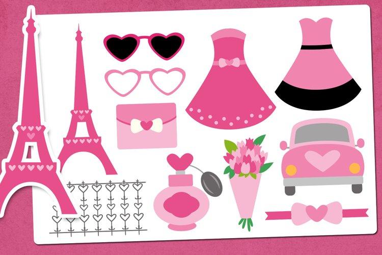 Valentine in Paris Illustrations