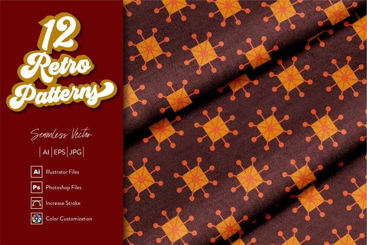 12 Retro Patterns example image 1