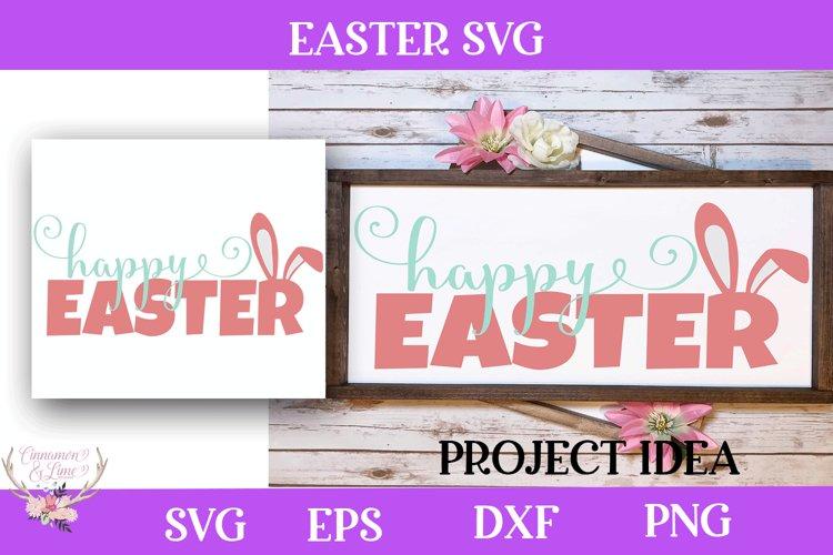 Easter SVG - Happy Easter Cut file