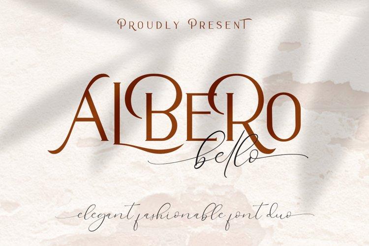 Alberobello // Fashionable Font Duo example image 1