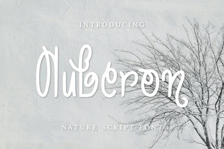 Auberon Font example image 1