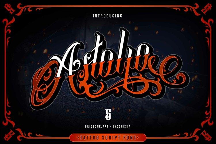 Astolfo | Tattoo script