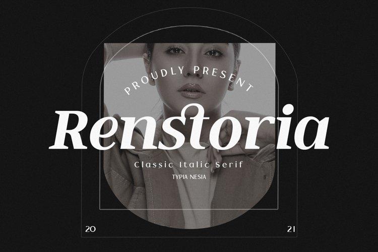 Renstoria example image 1