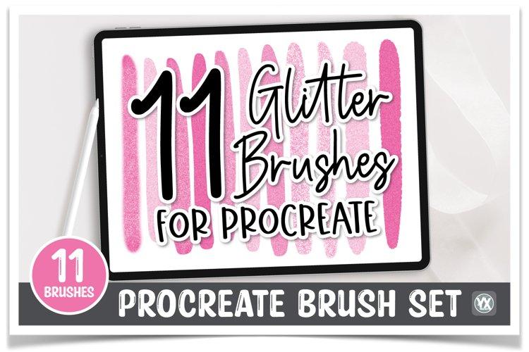 11 Procreate Glitter Brushes
