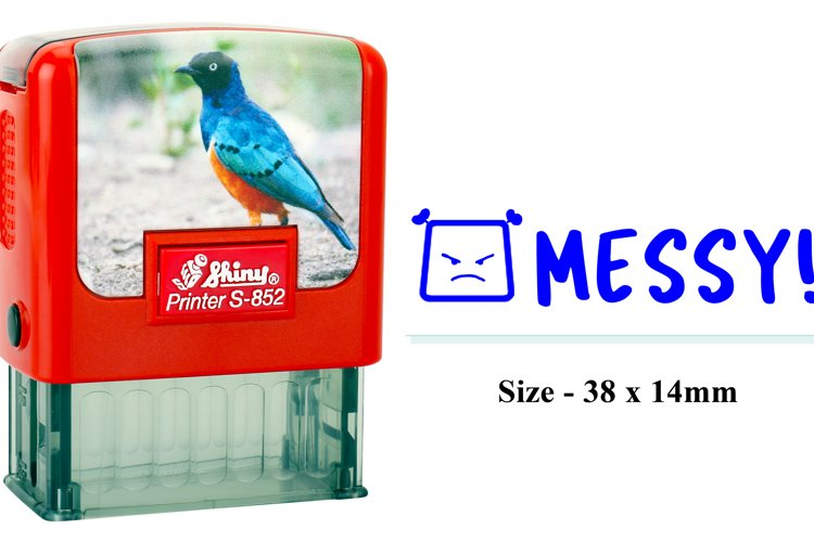 SHINY STAMP S852 example image 1