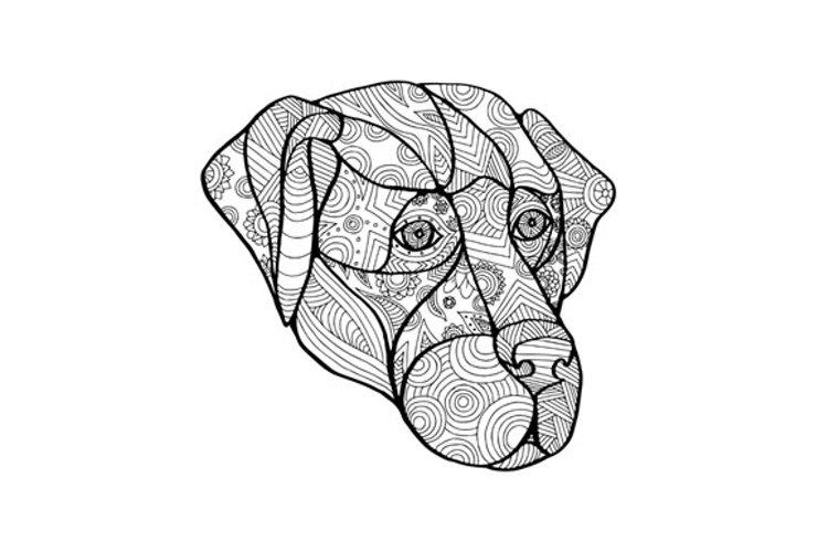 Labrador Retriever Mandala