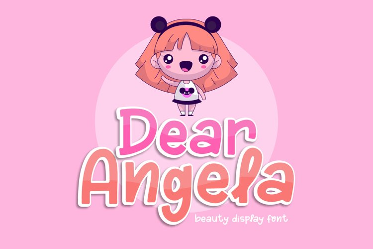 Dear Angela - Beauty Display Font example image 1