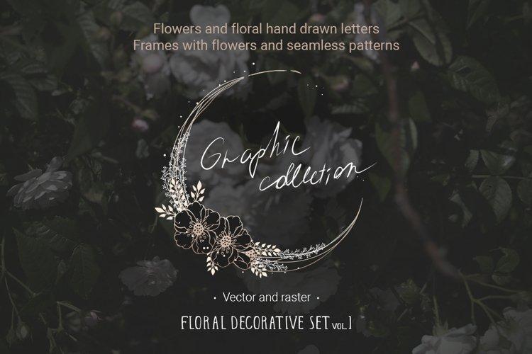 Floral decoration set vol. 1