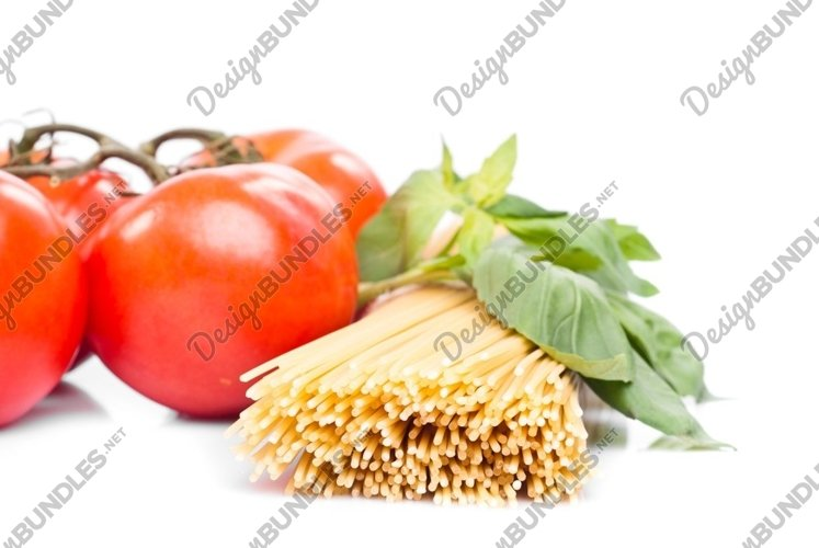 Spaghetti with tomatoes example image 1