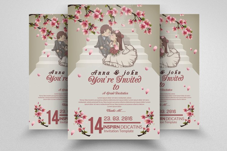 Affection Wedding Flyer example image 1