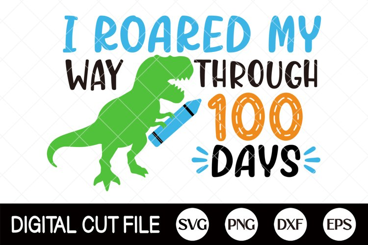 100 Days Of School Svg, 100 Days, Gifts For Teacher Shirts example image 1