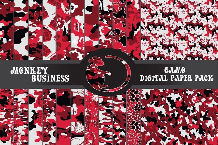 Digital papers, Scrapbook papers, Instant download, example image 1