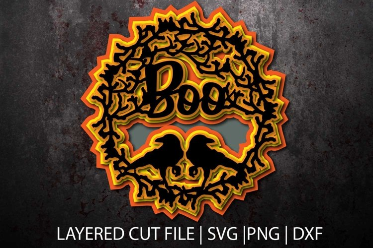 3D layered svg file| cut file | graphics files