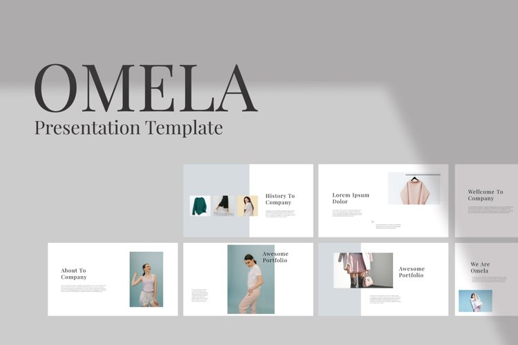 Omela Google Slide Template