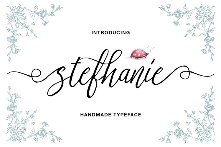 Stefhanie Typeface - Free Font of The Week Font