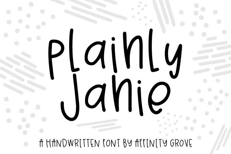Plainly Janie