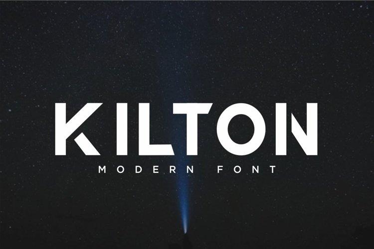 KILTON - MODERN SANS SERIF