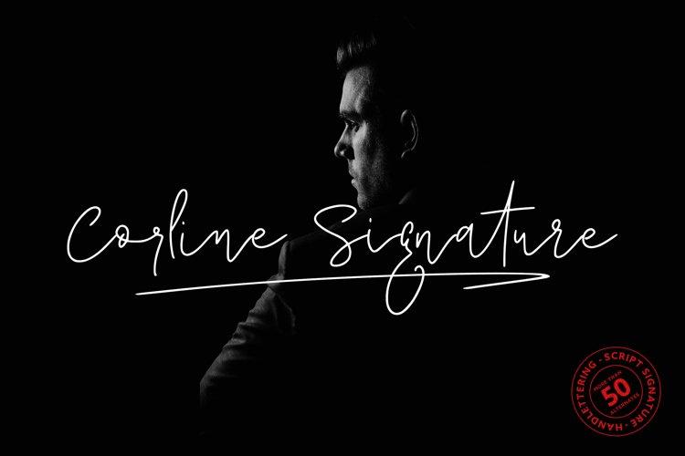 Corline Signature example image 1