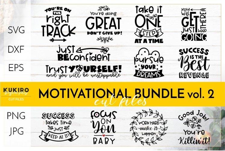 Motivational Quotes SVG BUNDLE - Work Girl Power cut files