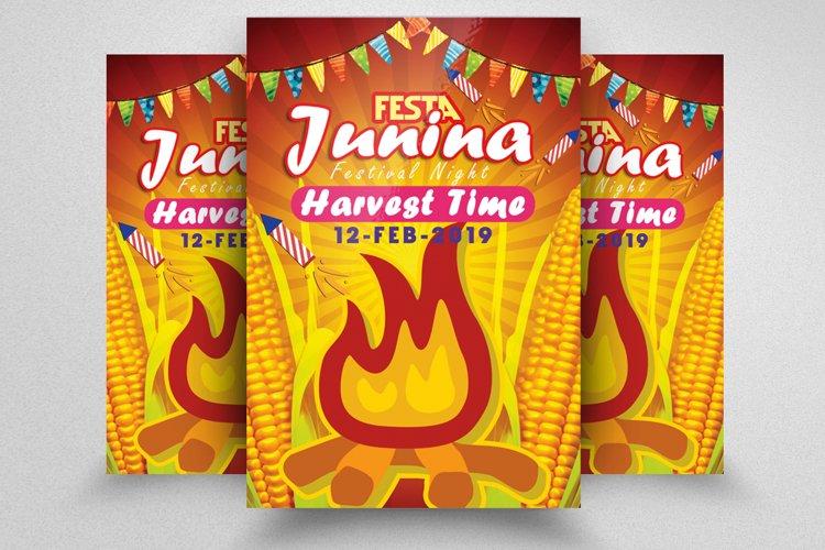 Festa Junina Festival Flyer Template example image 1