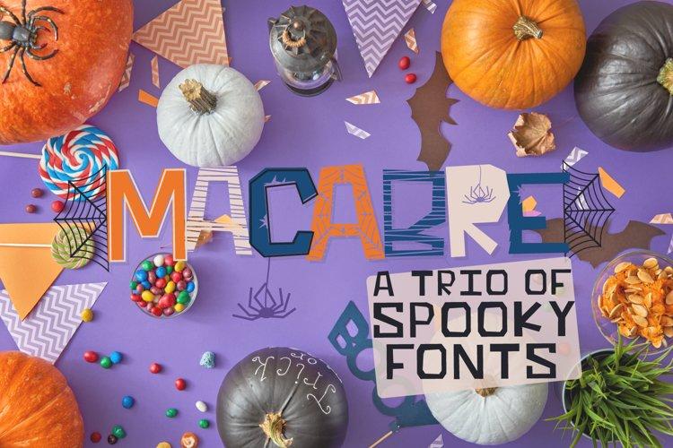 MACABRE - A Halloween Font Trio example image 1