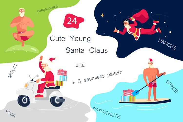 Sporty Santa Claus Bundle