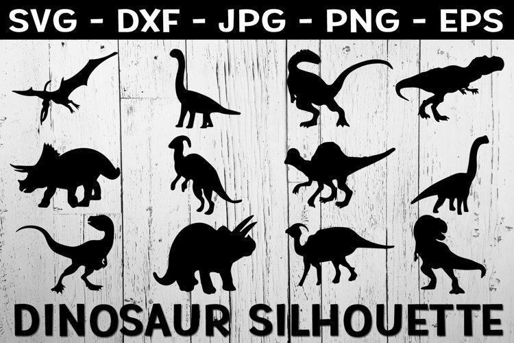 Download Dinosaur Svg Dinosaur Silhouette Svg Bundle 1121233 Cut Files Design Bundles
