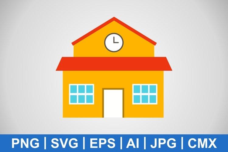 Vector School Icon example image 1