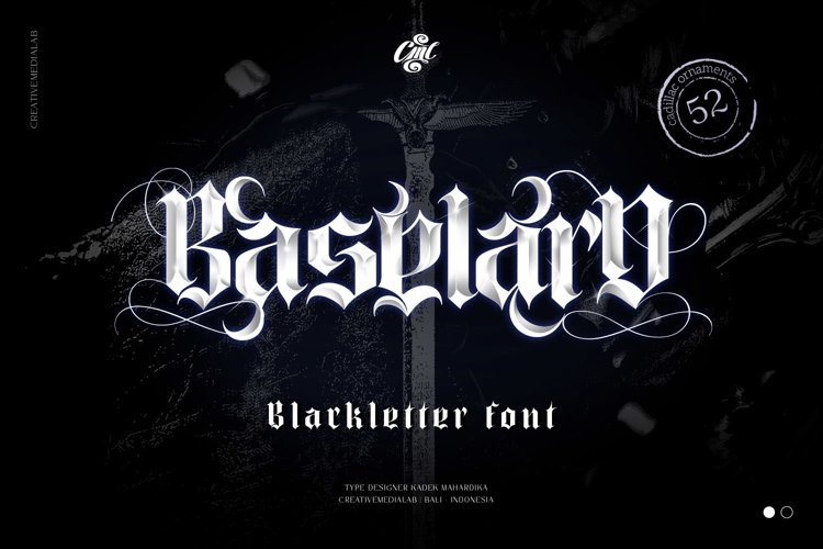 Baselard Font