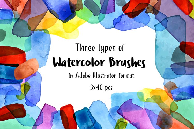 Watercolor Brushes example image 1