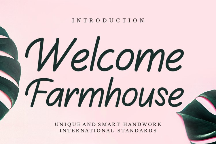 Welcome Farmhouse example image 1