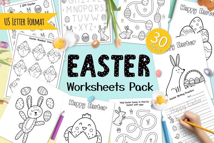 Easter Worksheets Pack