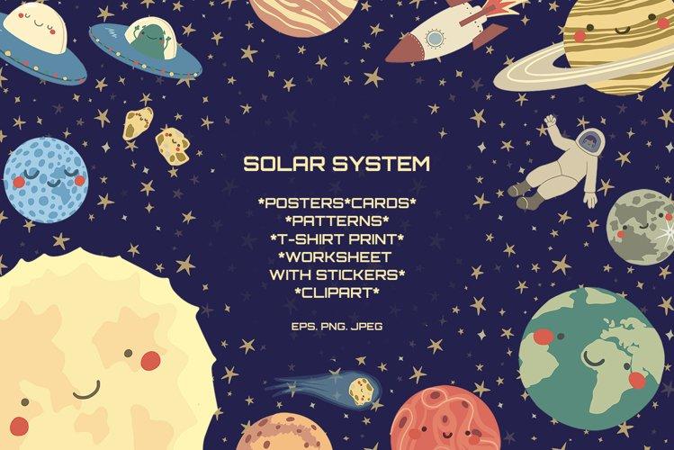 Solar system big design bundles.
