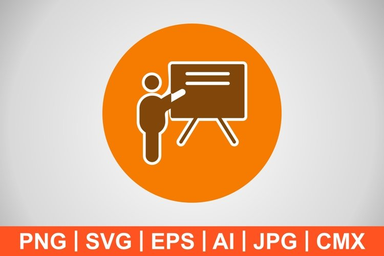 Vector Teaching Icon example image 1
