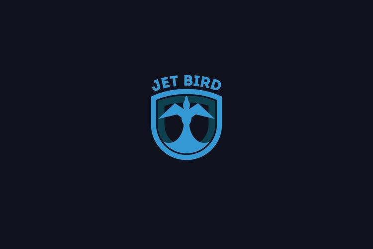 Jet Bird Logo Template