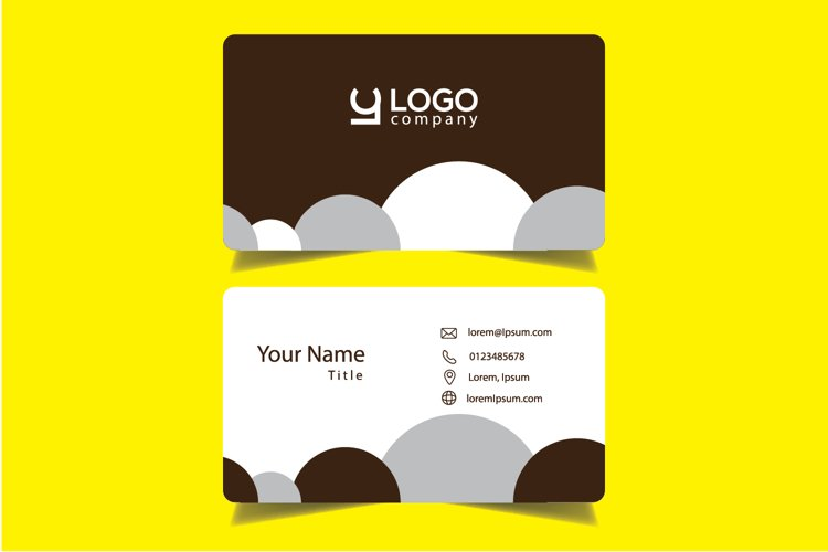 Modern and Simple Corporate Bussiness Card