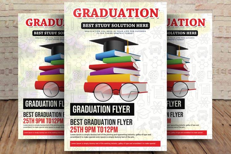 Graduation Study Flyer example image 1