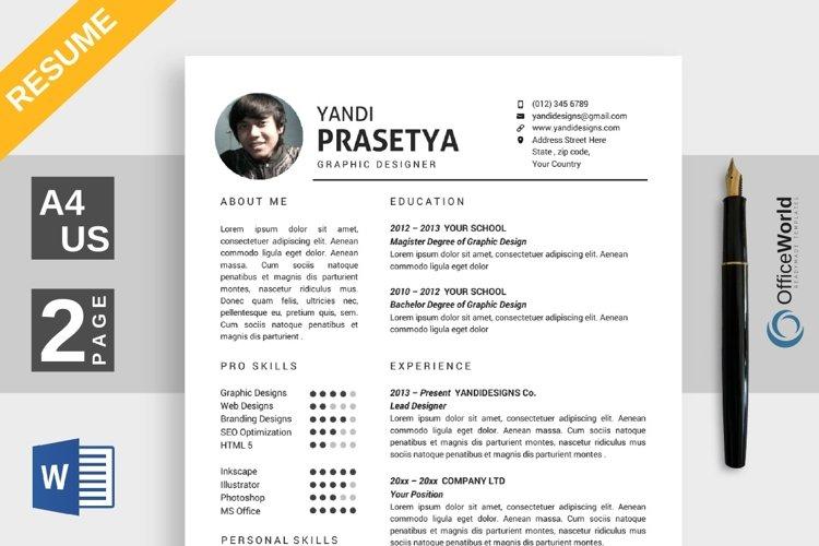Elegance Resume / CV