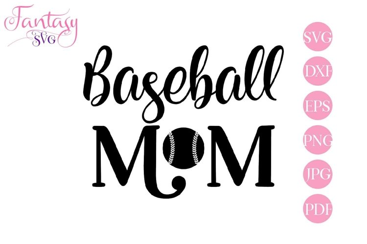 Baseball Mom - Svg Cut Files