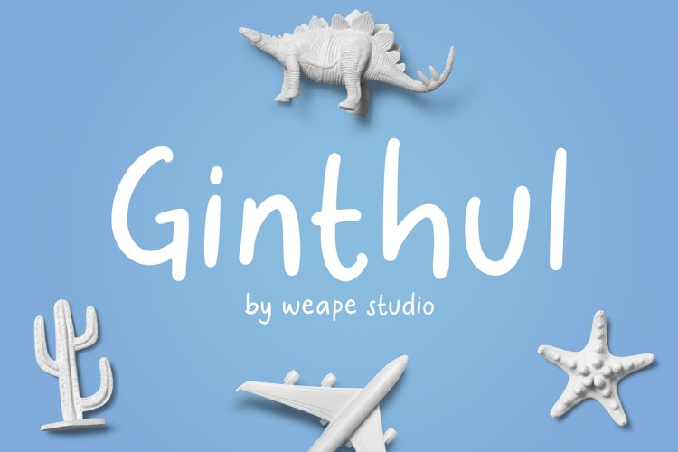 Ginthul - Fun and Playful Font example image 1