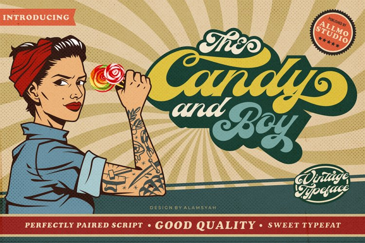 The Candy And Boy example image 1